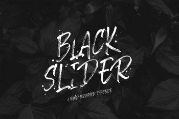 Black Slider