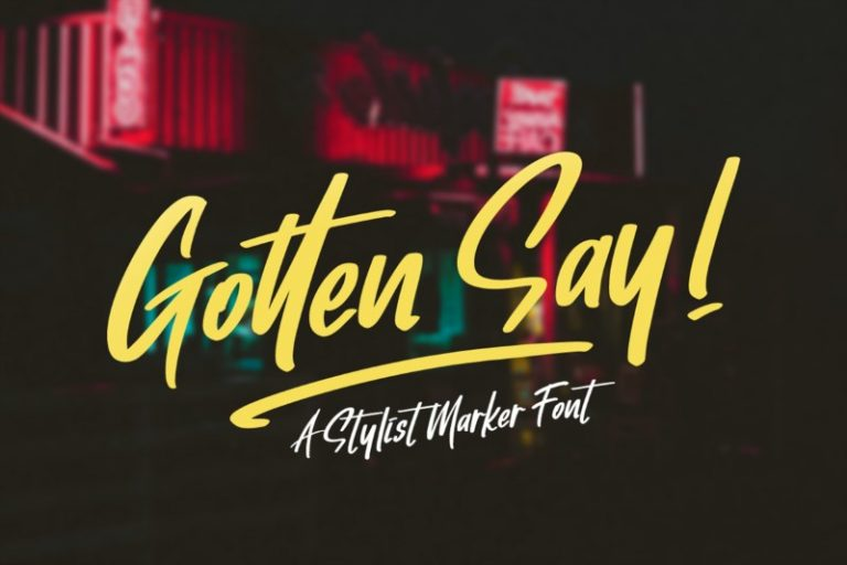 Preview image of Gotten Say