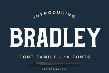 Bradley Font Family